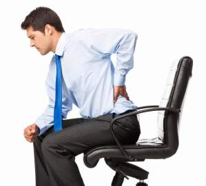 pain in chair