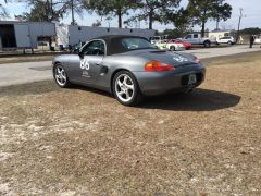 boxster at the track