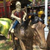 bv kids on horse