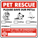 pet prepared sticker